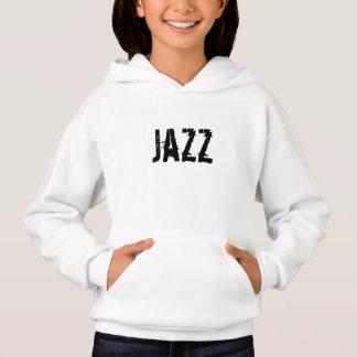 Hoodie do jazz das meninas (urbano) por t-shirts