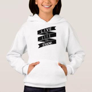 Hoodie inspirador inspirado das citações camisetas