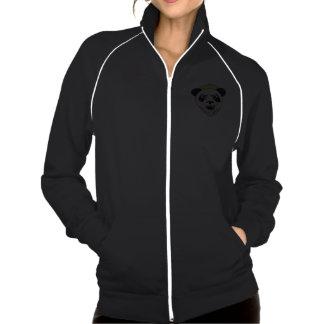Hoodie sem medo da panda jaquetas para estampar