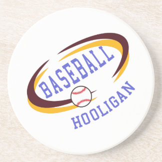 Hooligan do basebol porta copos de arenito