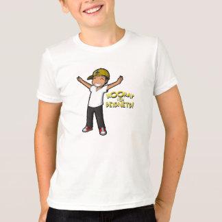 Hooray para o Tshirt da criança de Beignets