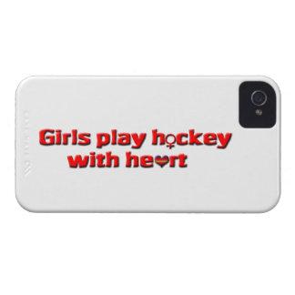 Hóquei do jogo das meninas com coração! - Sinal Capas iPhone 4