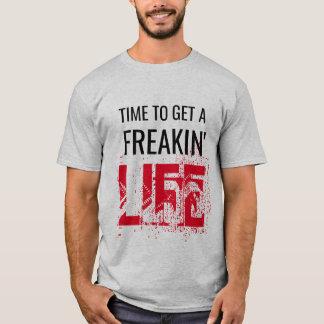 hora de obter um design freaking das camisetas