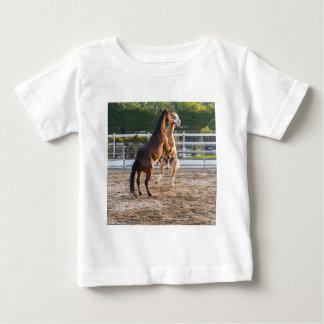 Horese em um humor brincalhão t-shirts