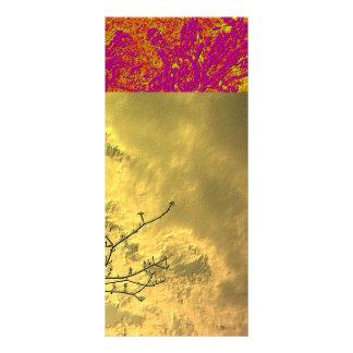 Horizontes dourados 10.16 x 22.86cm panfleto