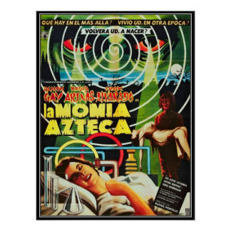 Horror do filme do vintage - posteres