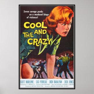 Horror do filme do vintage - poster