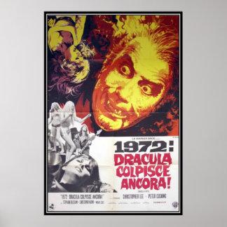 Horror do filme do vintage - pôsteres