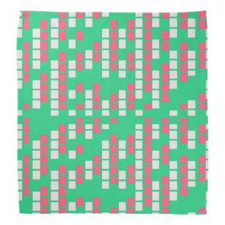 Hortelã e matriz cor-de-rosa bandanas