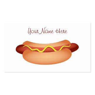 Hotdog Modelo Cartoes De Visita