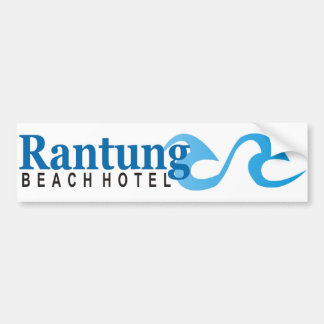 Hotel da praia de Rantung Adesivo Para Carro