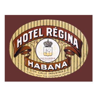 Hotel Regina Habana Cuba Cartão Postal