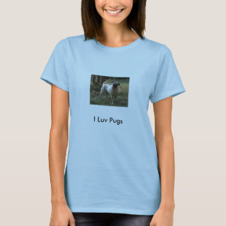 HPIM1113, Pugs de I Luv Tshirt