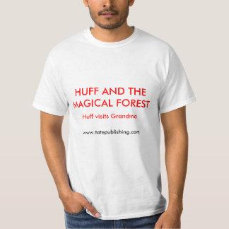 Huff e o Foest mágico T-shirts