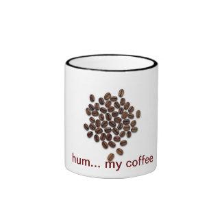 hum… my coffee caneca com contorno