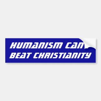 Humanismo contra a cristandade adesivo