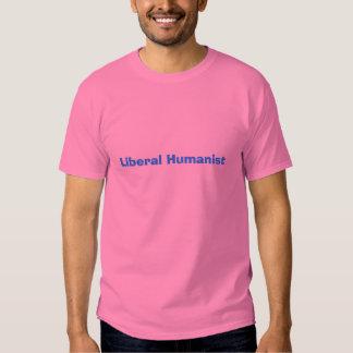 Humanista liberal camiseta
