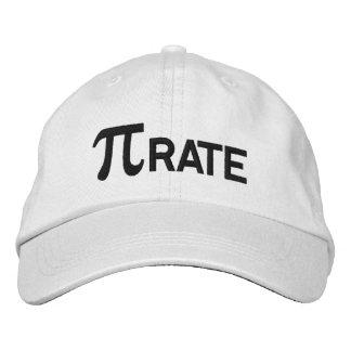Humor do geek do pi do pirata boné bordado