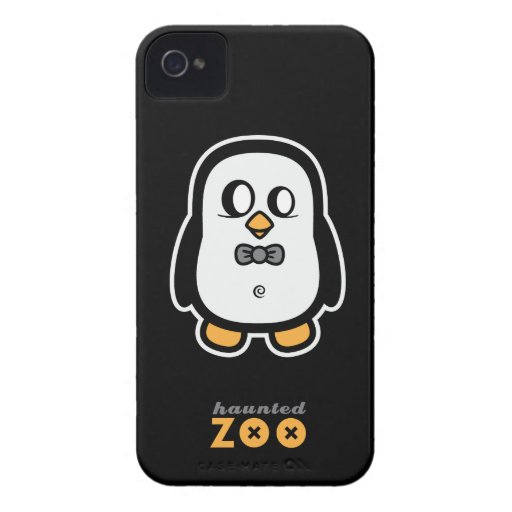 Humphrey o pinguim pelo jardim zoológico assombrad iPhone 4 capa