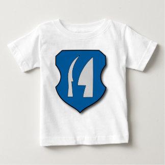 Hungria #7 camiseta para bebê