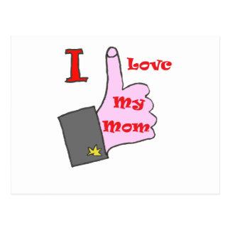 I BOBINA MY MOM.png Cartao Postal