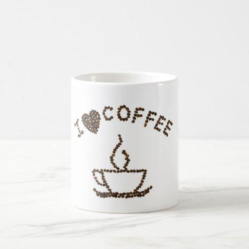I love Coffee Canecas