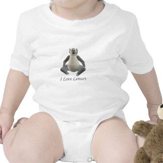 I Love My Lemur Tshirt