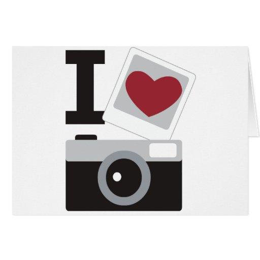 I Love Photo Cartões