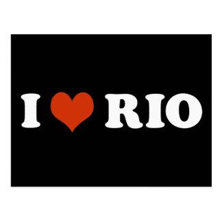 I love Rio de Janeiro Cartão Postal