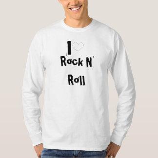 I love Rock n roll Camiseta