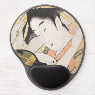 Ichirakutei Eisui uma senhora oriental japonesa da Mouse Pad Em Gel
