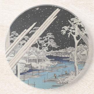 Ichiryusai Hiroshige Porta Copos De Arenito