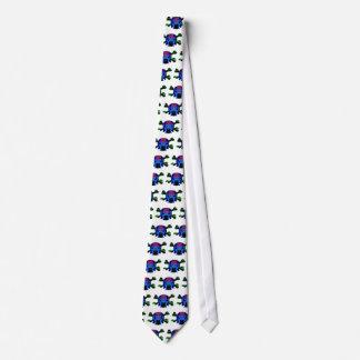 Ícone AZUL de TINMAN: Desenhos animados engraçados Gravata