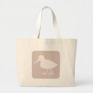 Ícone comum do pássaro do borrelho bolsa para compra