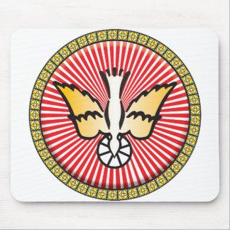 Ícone da cristandade mousepads