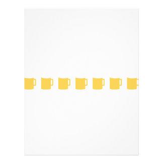 ícone de 7 canecas de cerveja panfletos personalizados