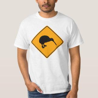 Ícone do quivi de Nova Zelândia que adverte o Camiseta