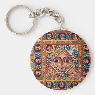 Ícone etíope chaveiro