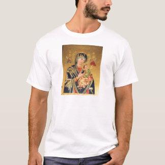 Ícone ortodoxo russo - Virgem Maria e bebê Jesus T-shirts