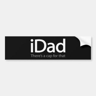iDad - autocolante no vidro traseiro engraçado par Adesivo