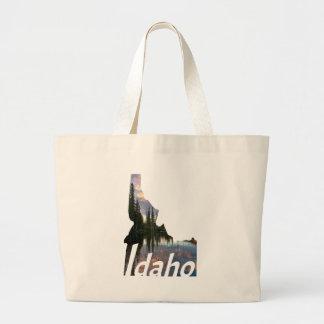 Idaho bonito bolsa tote grande