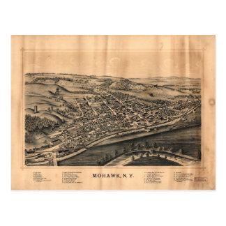 Ideia aérea do Mohawk, New York (1893) Cartão Postal