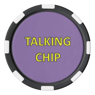 Ideia da estratégia da instrução! fichas de poker