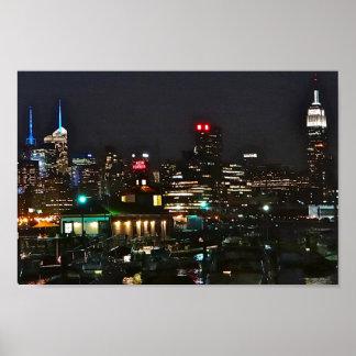 Ideia do beira-rio de NYC Poster