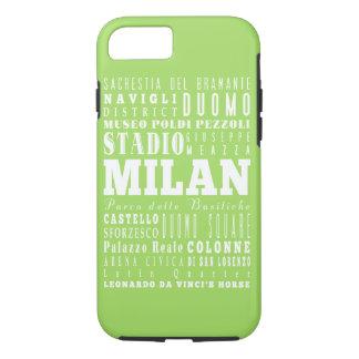 Ideia do presente de Milão original, Italia Capa iPhone 8/7