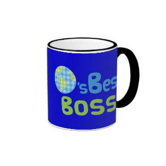Ideia do presente para o chefe (mundos melhores) canecas