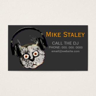 ideia feita sob encomenda do promocional do DJ Cartão De Visitas