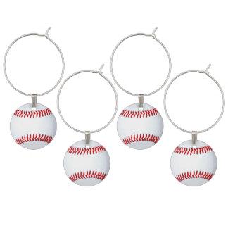 Ideias adultas do partido do tema do basebol identificadores de taças