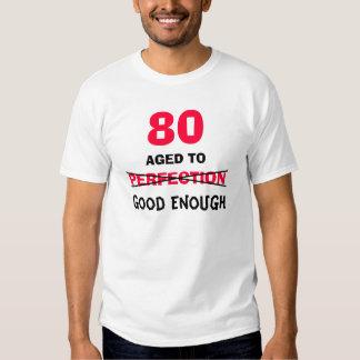 ideias do presente de aniversário do 80 para a camisetas