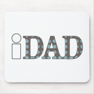 ideias do presente do dia dos pais do iDad Mouse Pad